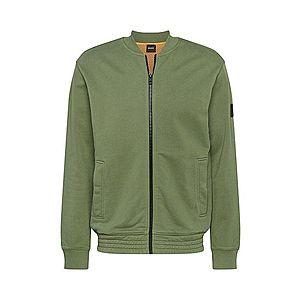 BOSS Tepláková bunda 'Zomber' zelená vyobraziť