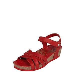Červené sandále Jacky vyobraziť