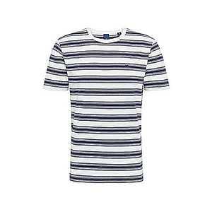 SCOTCH & SODA Tričko modré / biela vyobraziť