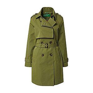 UNITED COLORS OF BENETTON Prechodný kabát olivová vyobraziť