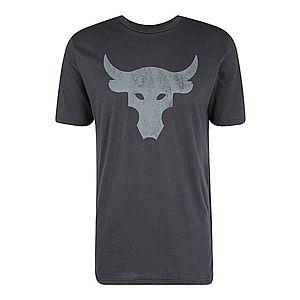 UNDER ARMOUR Funkčné tričko 'Project Rock Brahma Bull ' tmavosivá / čierna vyobraziť