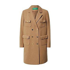 UNITED COLORS OF BENETTON Prechodný kabát tmavobéžová vyobraziť