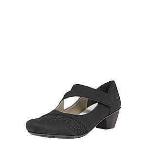 RIEKER Sandále čierna vyobraziť