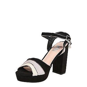 Xti Remienkové sandále čierna vyobraziť