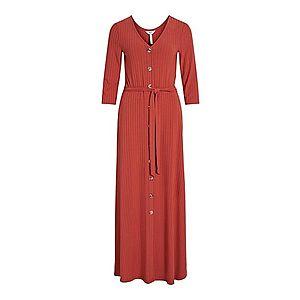 OBJECT Šaty hrdzavo červená vyobraziť