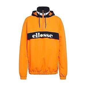 ELLESSE Prechodná bunda 'FISTINU' biela / oranžová / čierna vyobraziť