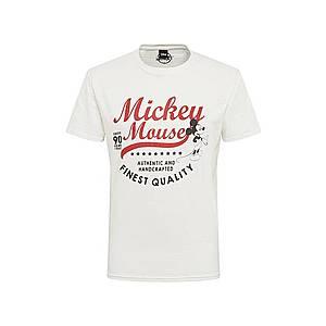 Hailys Men Tričko 'Mickey' šedobiela vyobraziť