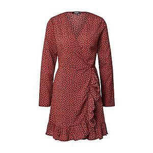 Missguided Letné šaty hrdzavo červená vyobraziť