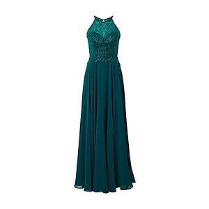 LUXUAR Večerné šaty smaragdová vyobraziť