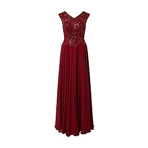 LUXUAR Večerné šaty '2020-II Abendkleid' bordové vyobraziť