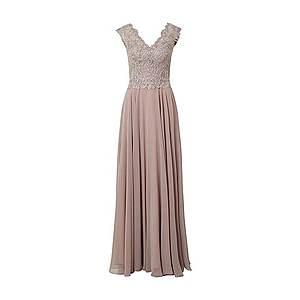 LUXUAR Večerné šaty '2020-II' staroružová / svetlofialová / strieborná vyobraziť