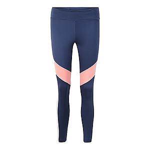 ADIDAS PERFORMANCE Športové nohavice tmavomodrá / ružová vyobraziť