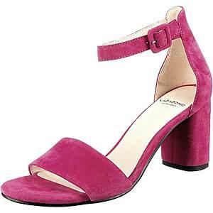 VAGABOND SHOEMAKERS Remienkové sandále 'Penny' cyklaménová vyobraziť