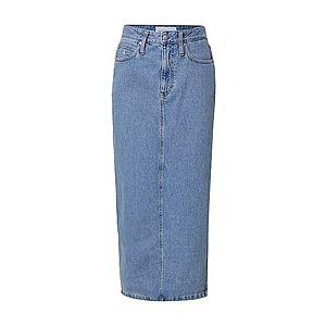 Calvin Klein Jeans - Rifľová sukňa vyobraziť