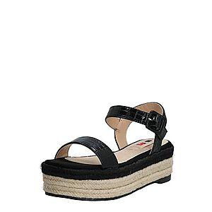 MTNG Sandále 'NEW TESSY' piesková / čierna vyobraziť