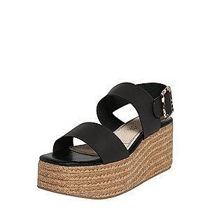 MTNG Sandále 'OBI' piesková / čierna vyobraziť