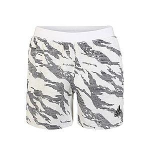 ADIDAS PERFORMANCE Športové nohavice 'Tky Camo' biela / sivá vyobraziť