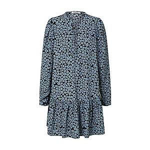 GLAMOROUS Šaty 'Dress' čierna / modré vyobraziť
