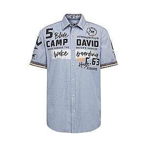 CAMP DAVID Košeľa tmavomodrá / modrá vyobraziť