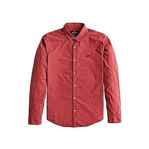 HOLLISTER Košeľa hrdzavo červená vyobraziť
