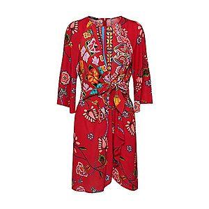 Desigual Šaty 'VEST_GLEN' červené vyobraziť
