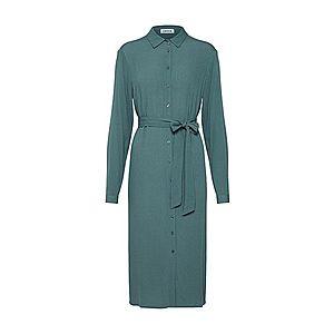 EDITED Košeľové šaty 'Reza' zelená vyobraziť