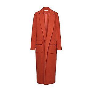 GLAMOROUS Prechodný kabát hrdzavo červená vyobraziť