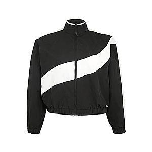 REEBOK Športová bunda čierna / biela vyobraziť
