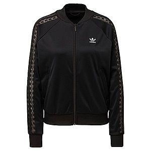 ADIDAS ORIGINALS Tepláková bunda čierna vyobraziť