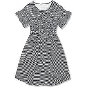 Šaty strihané pod prsiami vyobraziť