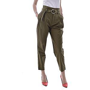 Guess dámske nohavice Farba: Zelená, Veľkosť: XS vyobraziť