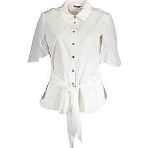 Guess dámska košeľa Farba: Biela, Veľkosť: L vyobraziť