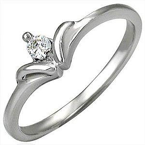 Zásnubný prsteň so vzorom mašličkového kamienka D8.12 vyobraziť