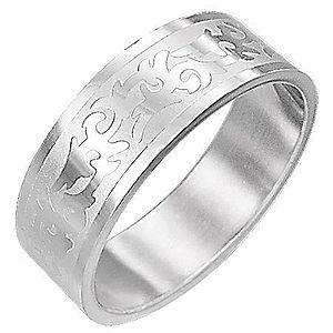 Oceľový prsteň TRIBAL SYMBOL D5.17 vyobraziť