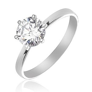 Strieborný snubný prsteň vyobraziť