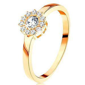 Zlatý prsteň KVET vyobraziť