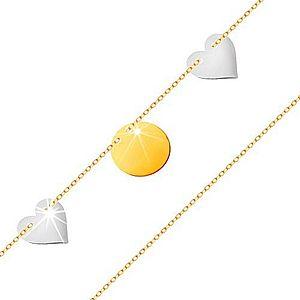 Náramky z bieleho zlata vyobraziť
