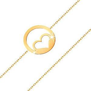 Dámske zlaté náramky vyobraziť