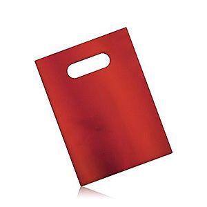 Matná darčeková taška z celofánu, tmavočervená farba GY58 vyobraziť