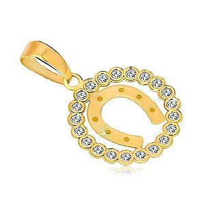 Zlatý prívesok kruhy vyobraziť