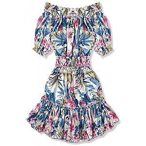 Modro-ružové šaty Serena/Ola Voga vyobraziť