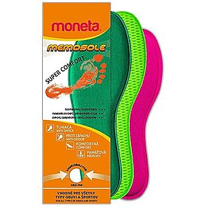 Moneta Vložky do obuvi z pamäťovej peny Memosole - 35-36 vyobraziť