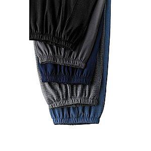 Nohavice s podielom vlny čierna 40/42 vyobraziť