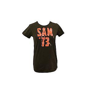 Chlapčenské tričko Sam 73 army zelená 116-122 vyobraziť