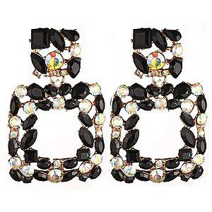 Náušnice Stones-Čierna KP5247 vyobraziť