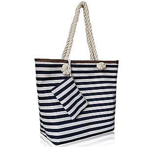 modro biela kabelka vyobraziť