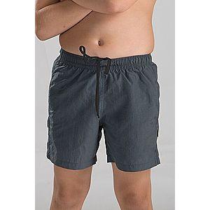Chlapčenské kúpacie šortky sivé vyobraziť