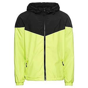 Urban Classics Prechodná bunda neónová žltá / čierna vyobraziť