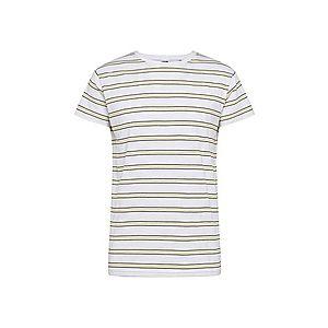 Urban Classics Tričko 'Multicolor Stripe Tee' žlté / čierna / biela vyobraziť