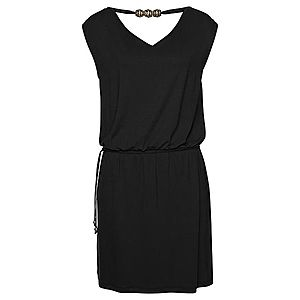 LASCANA Plážové šaty čierna vyobraziť